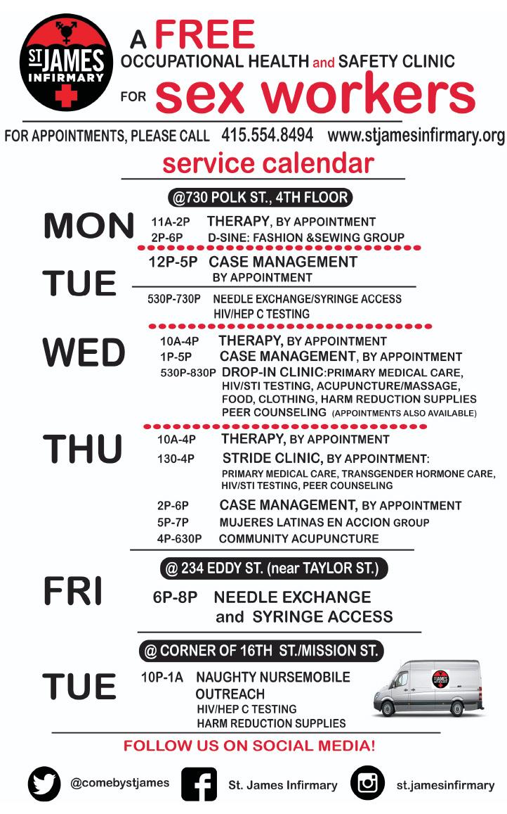 2019 SJI Service Calendar 7-18-2019 English